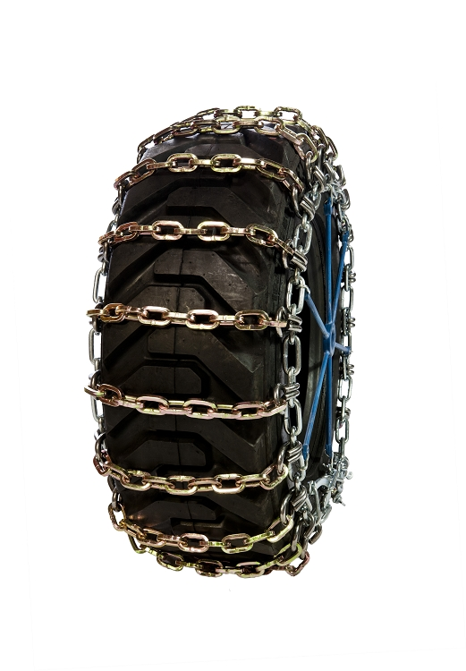 Skid Steer Double Duty Square Link Tire Chains