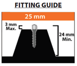25mm SITS Fitting Guide